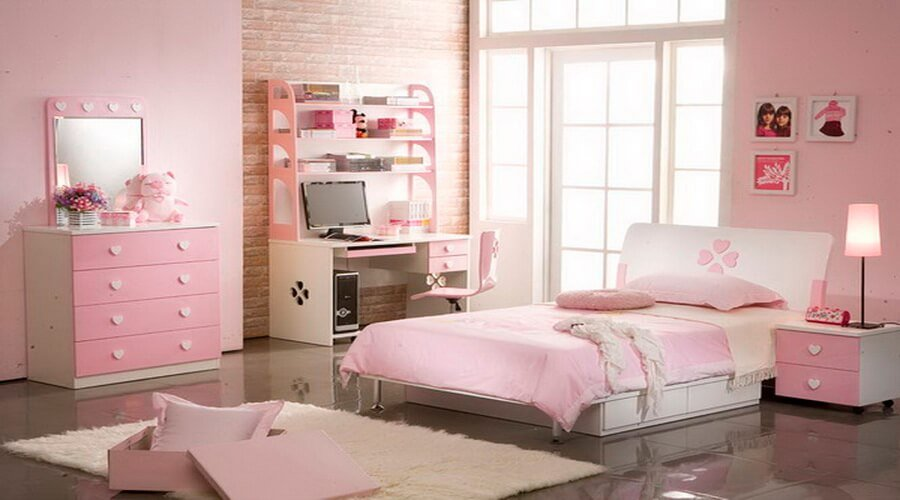 10 inspiring teenage girl bedroom interior design ideas for Fancy girl bedroom ideas