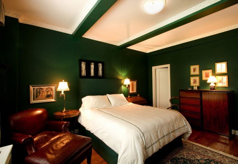 10 Gorgeous Green Bedroom Interior Design Ideas ...