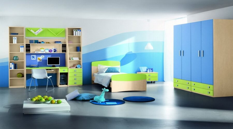 10 Cool Teenage Boy\u0027s Bedroom Interior Design Ideas ... Gradation In Interior Design & Gradation In Interior Design - industri.info