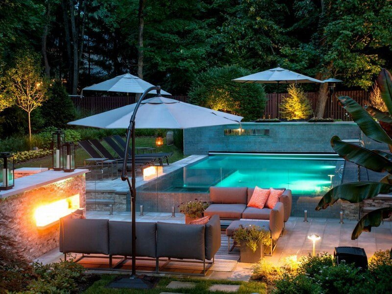 10 stunning patio pool design ideas for Stunning pool designs