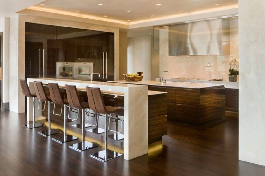 Amazing bar stools for your own kitchen best design projects for Modern kitchen design with bar