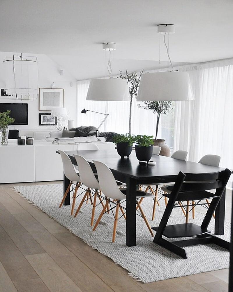 Scandinavian Dining Room: 10 Cool Scandinavian Dining Room Interior Design Ideas