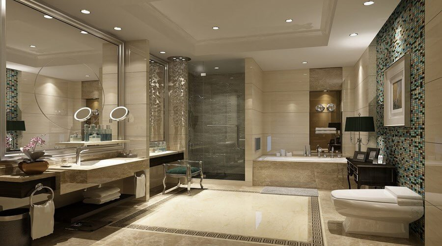 10 gorgeous bathroom interior design ideas for Gorgeous bathroom designs