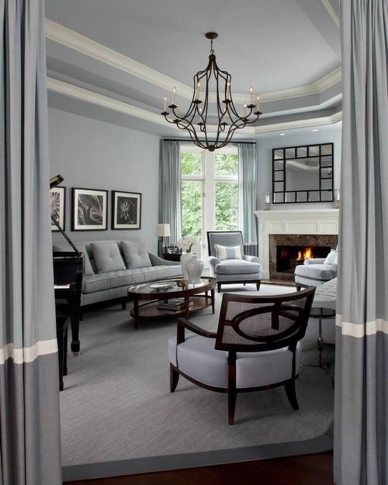 10 amazing gray interior design ideas for Paint interior designs
