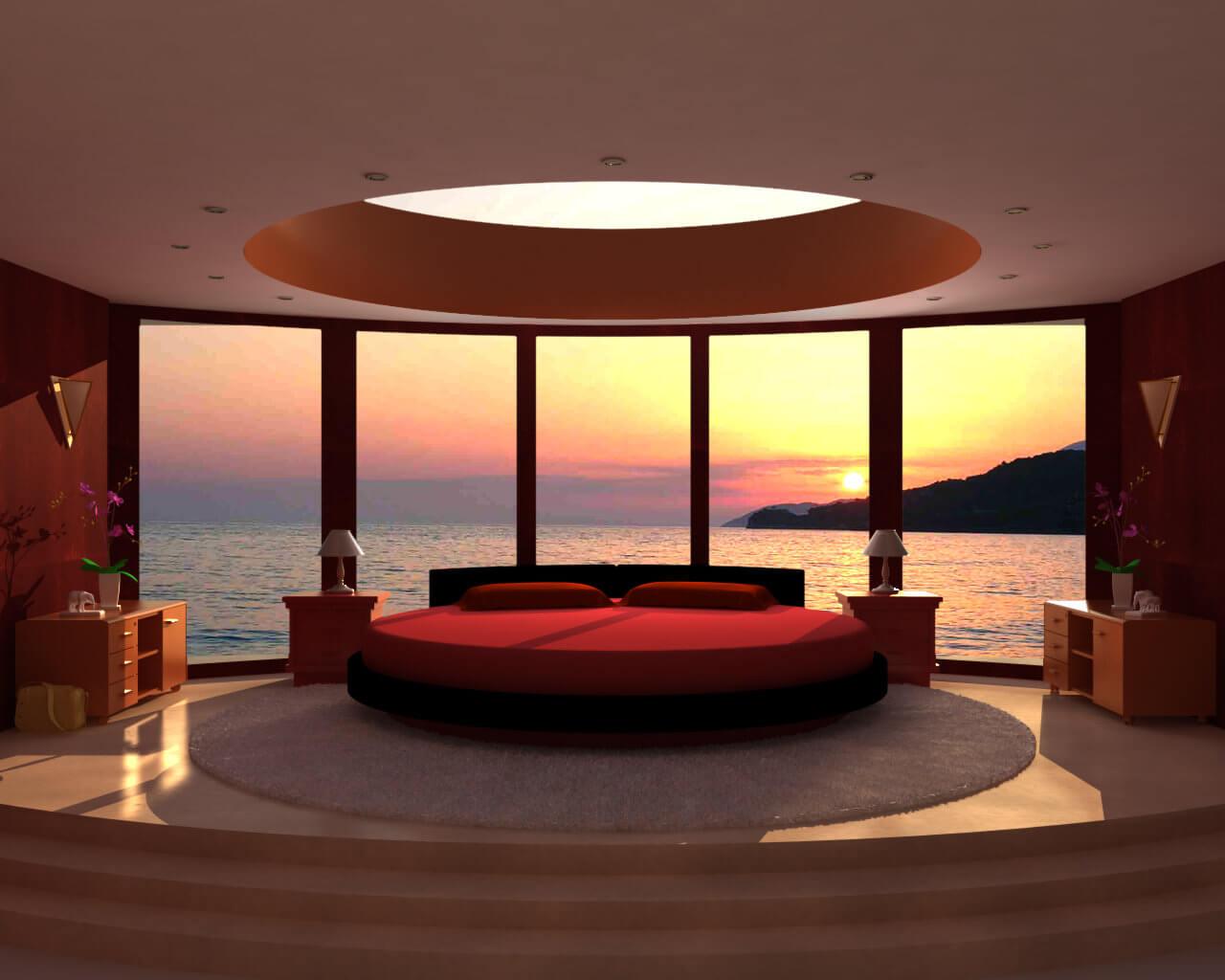 10 ravishing red bedroom interior design ideas for Red interior design ideas