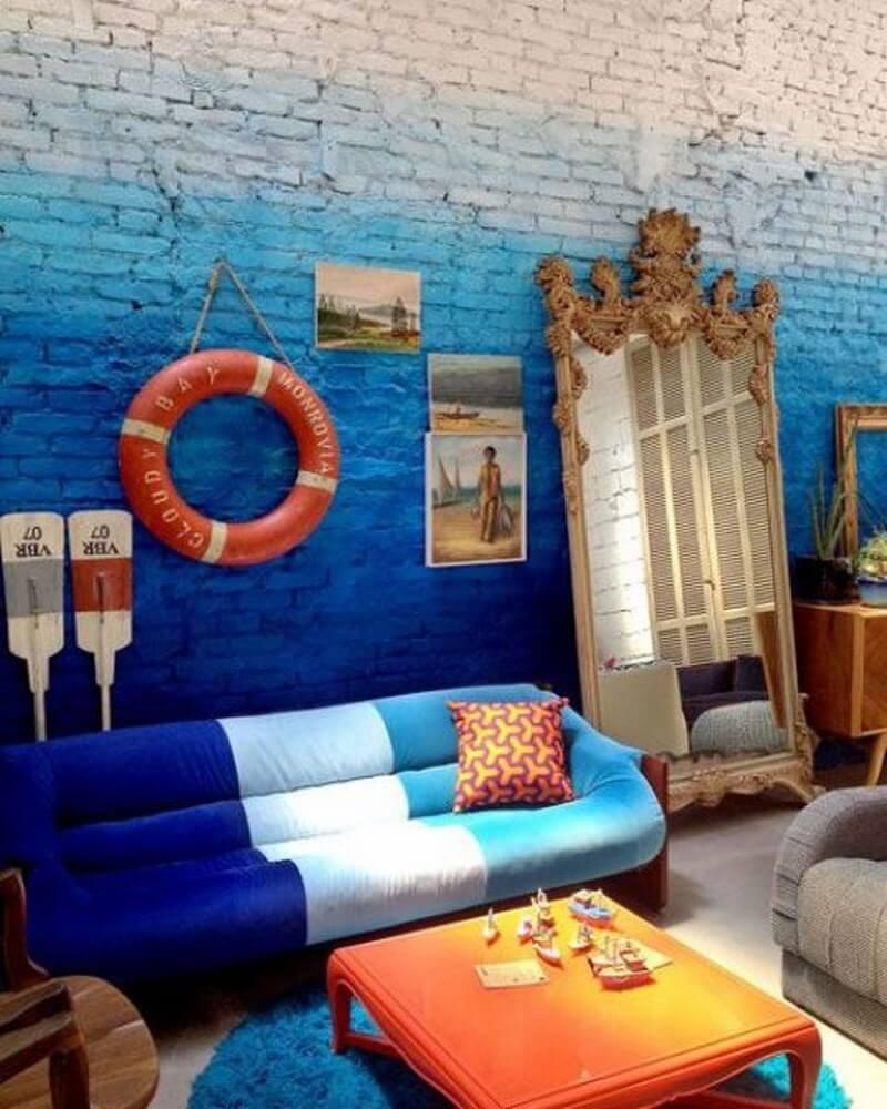 Dreamy ombre wall decor ideas 25