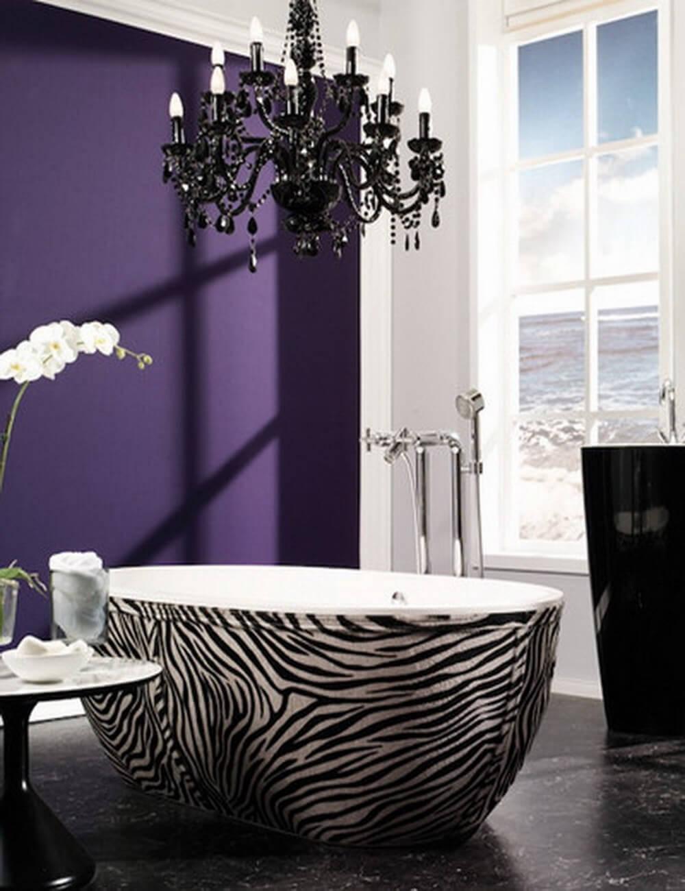 The Most Amazing Bathtubs in the World Zebra Print Interior Design Ideas 41