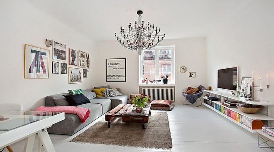 superb living room in home attic design | 11 Superb Attic Kitchen Designs - Interioridea.net