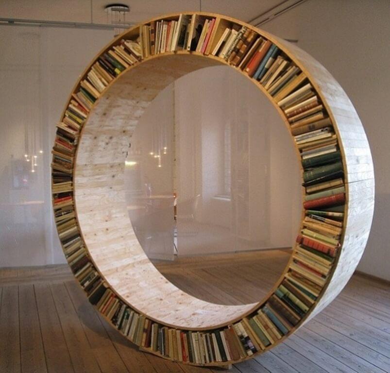 Top 10 Insanely Creative Bookcase Design Ideas