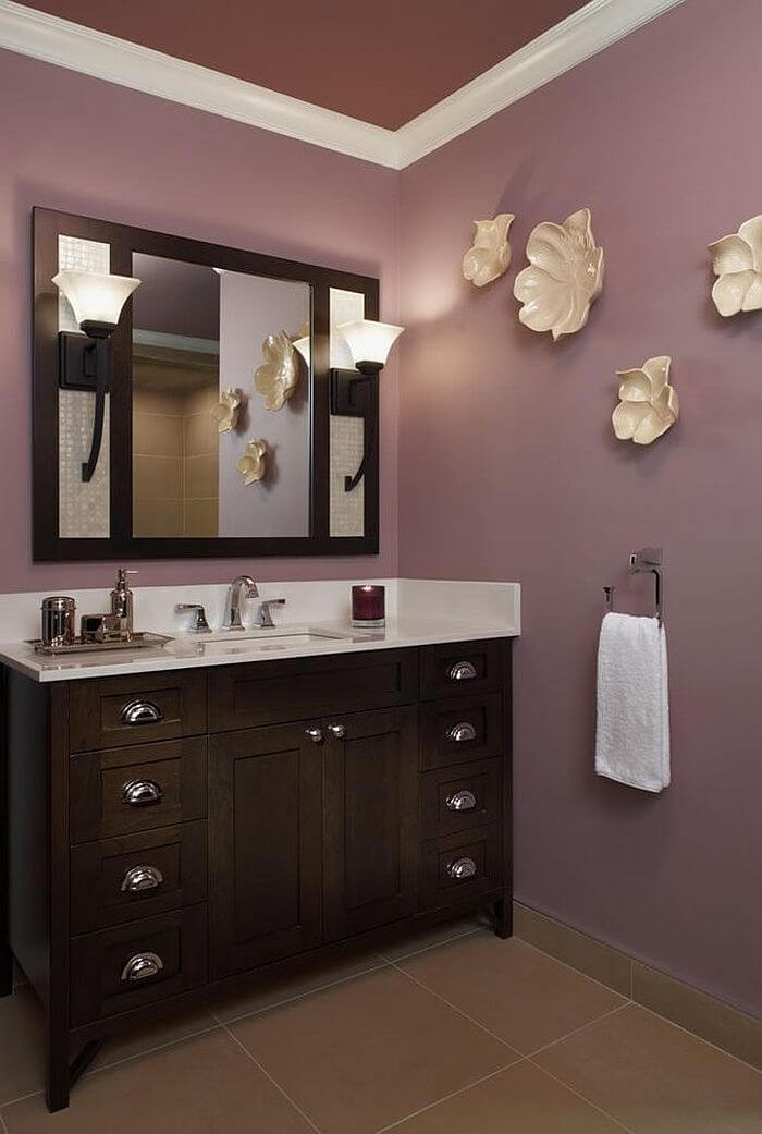 10 charming purple bathroom design ideas for Bathroom ideas purple
