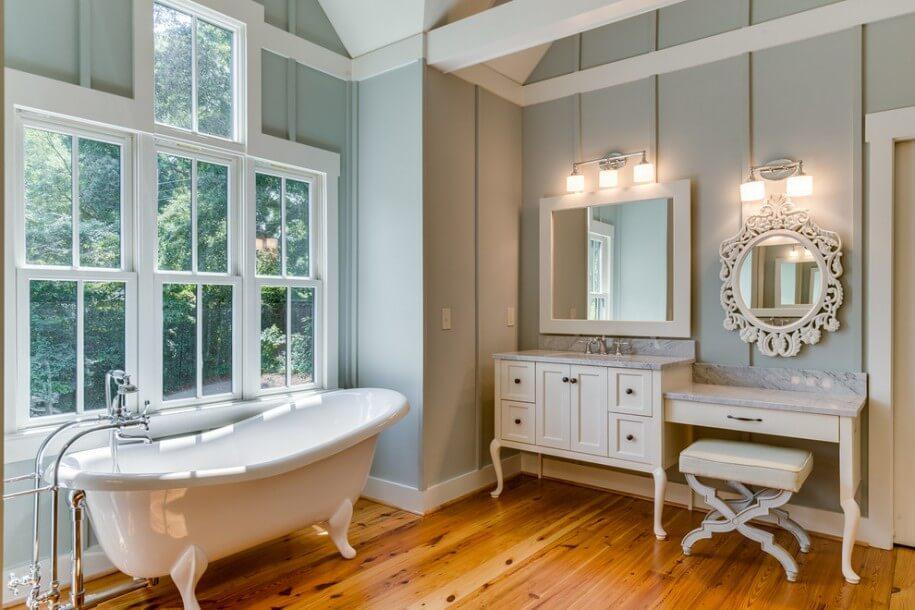 7 Charming Farmhouse Bathroom Design Ideas Interioridea Net