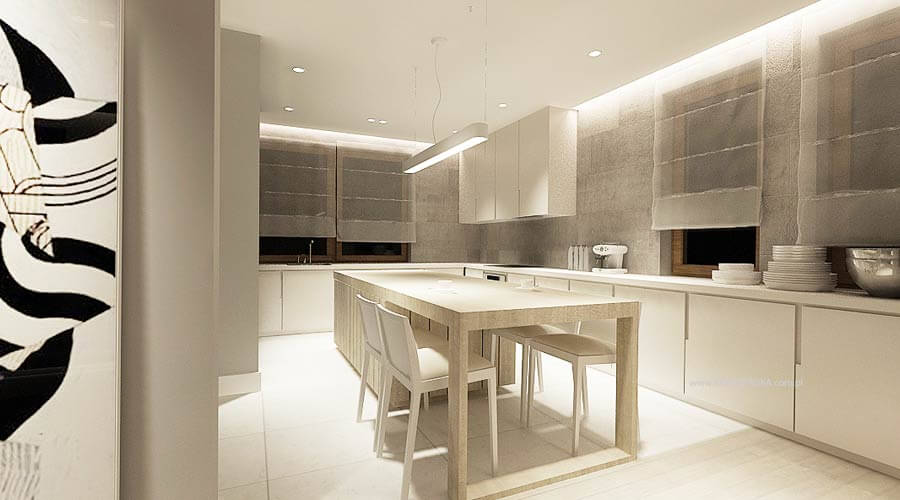 Awesome White Kitchen