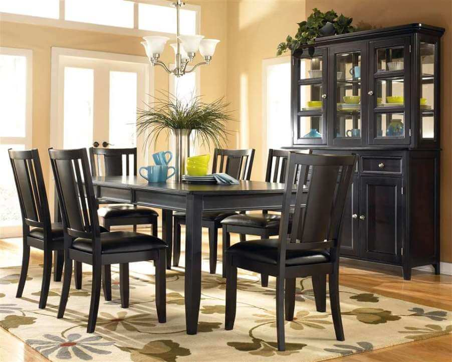 10 paint color ideas for beautiful dining room interior for Beige dining room ideas