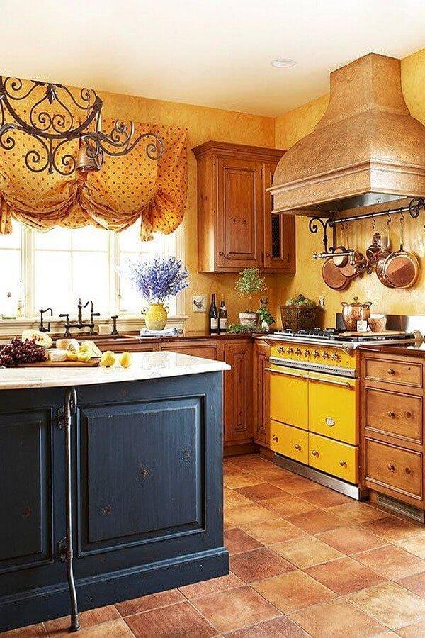 10 Fresh Yellow Kitchen Interior Design Ideas - Interior Idea