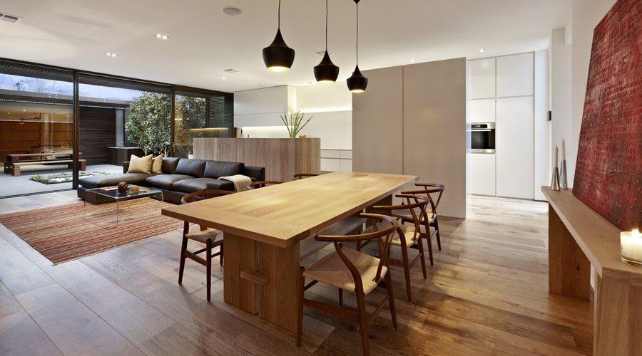 Cozy Modern Dining Room