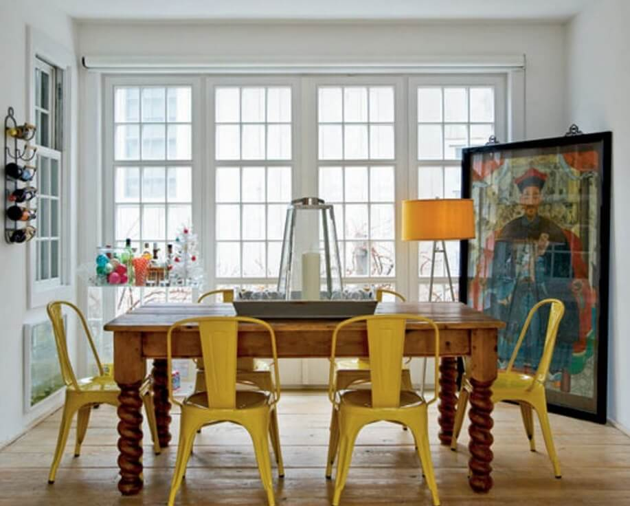 Eclecitc Dining Room