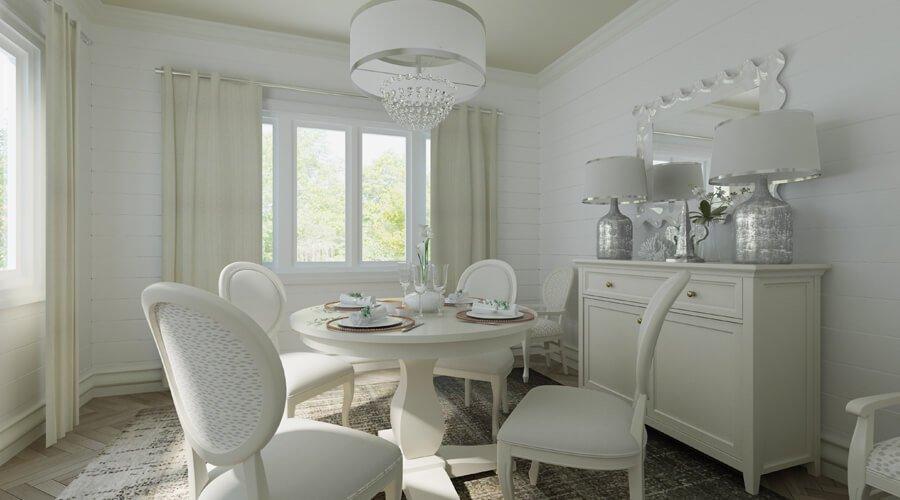 Elegant French Dining Room