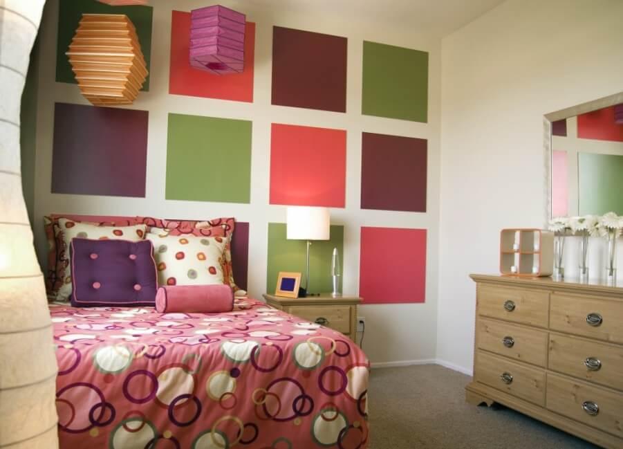 Lively Girl's Bedroom