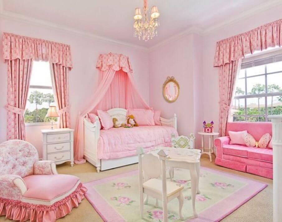 Luxurious Girl's Bedroom