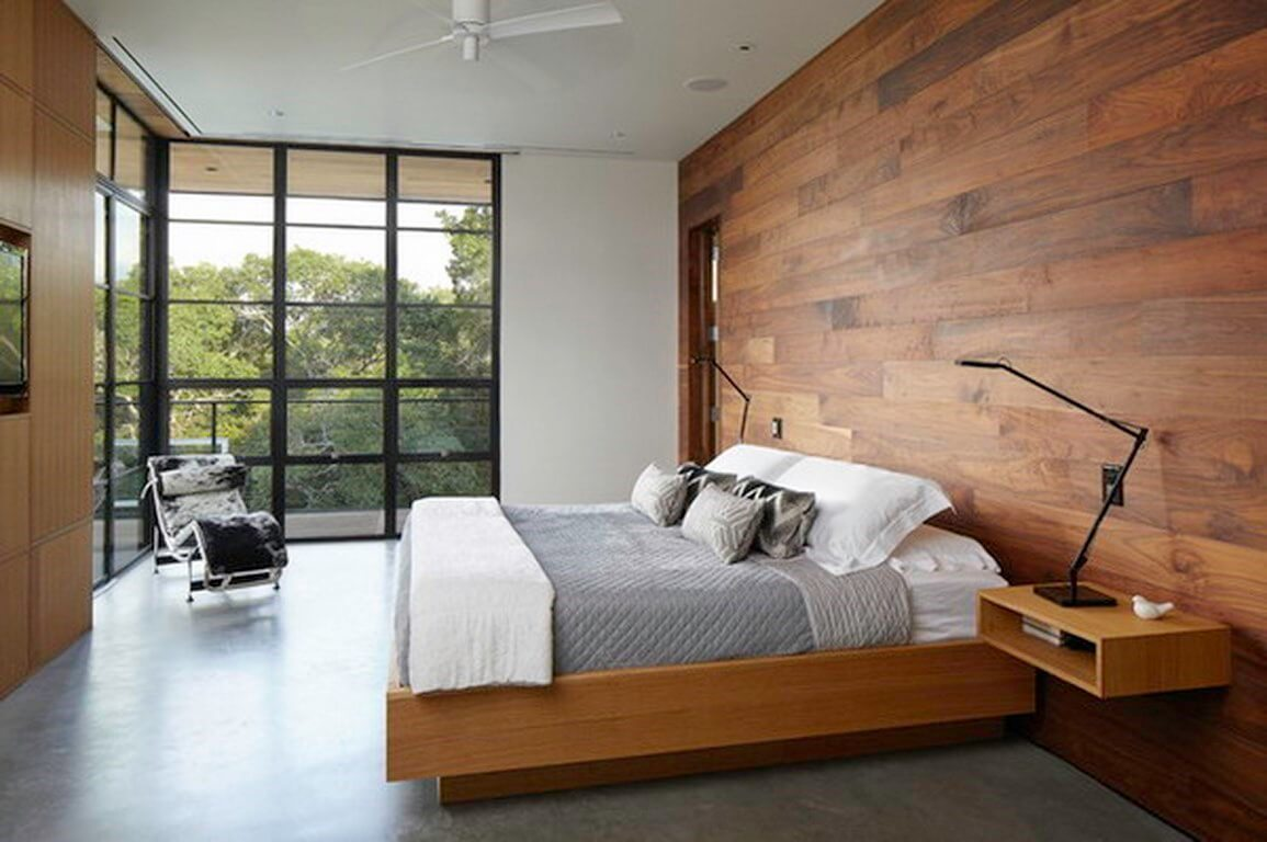 Modern-Bedroom-Ideas-with-Glass-Wall-Decoration