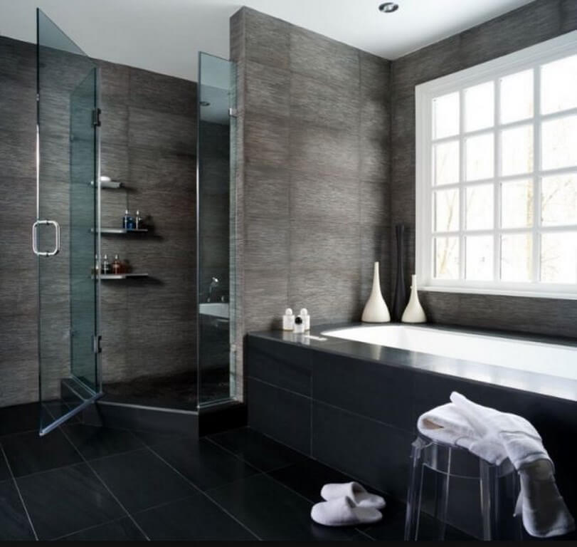 Modern Gloomy Bathroom
