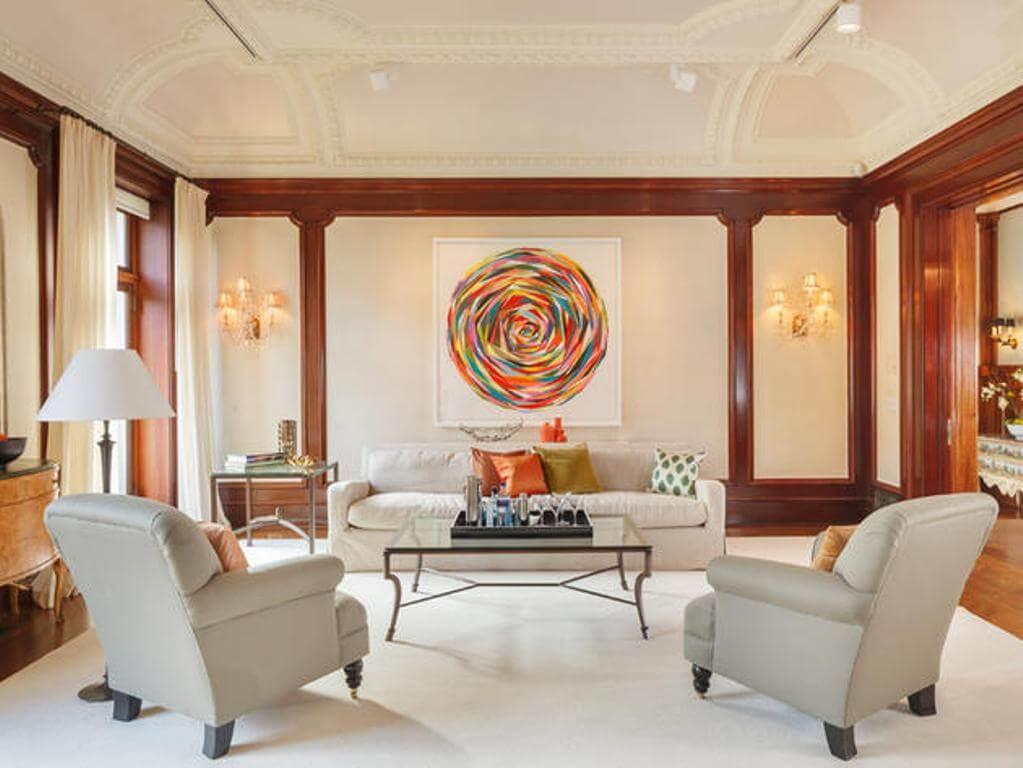 10 essential keys to creating a beautiful living room interior design ideas https - Focal point art essential aspect decor ...