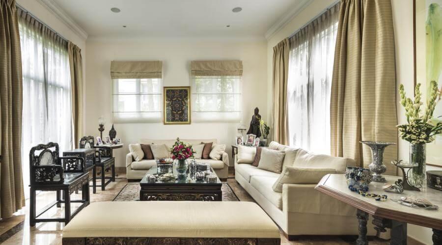 10 serene neutral living room interior design ideas for Interior design ideas living room neutral