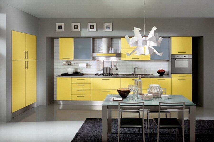 10 Fresh Yellow Kitchen Interior Design Ideas   https ...