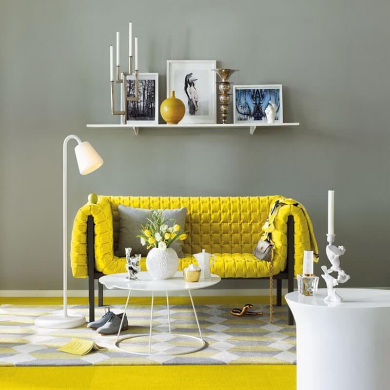 10 sunny yellow interior design ideas  https