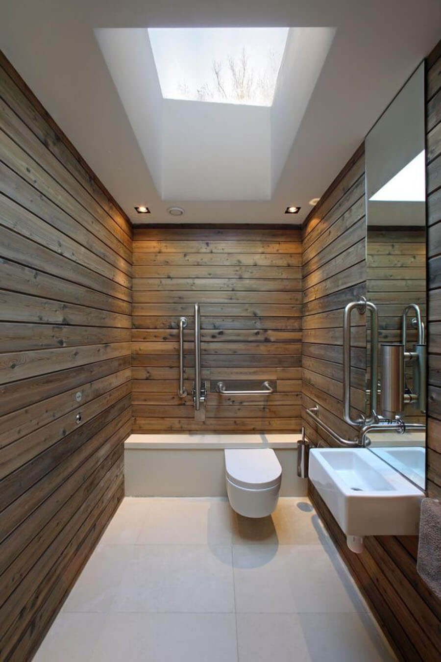 Airy Minimalist Bathroom