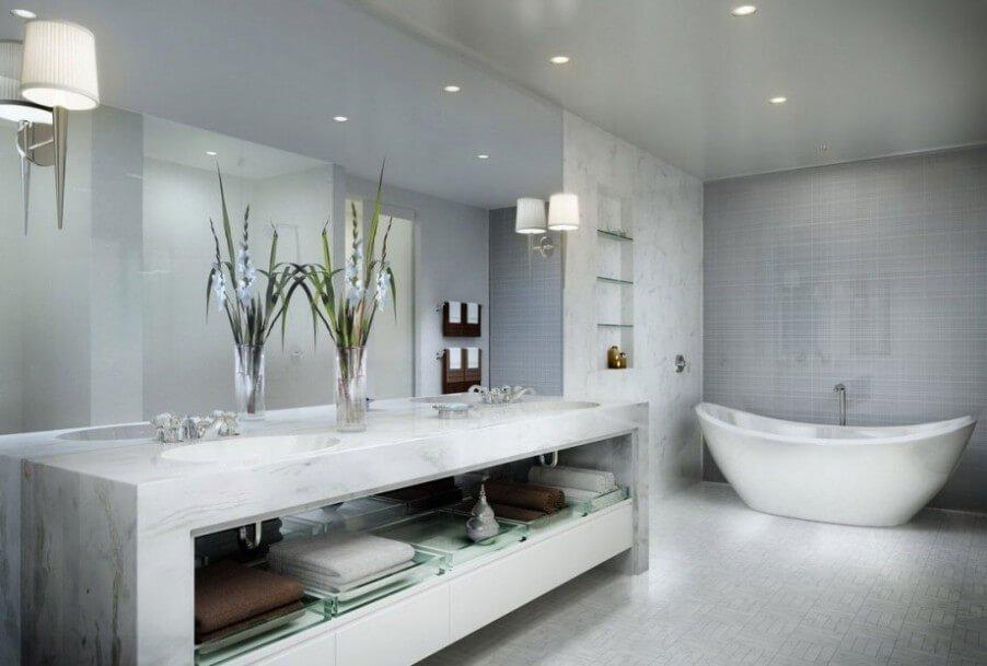 Beautiful Minimalist Bathroom