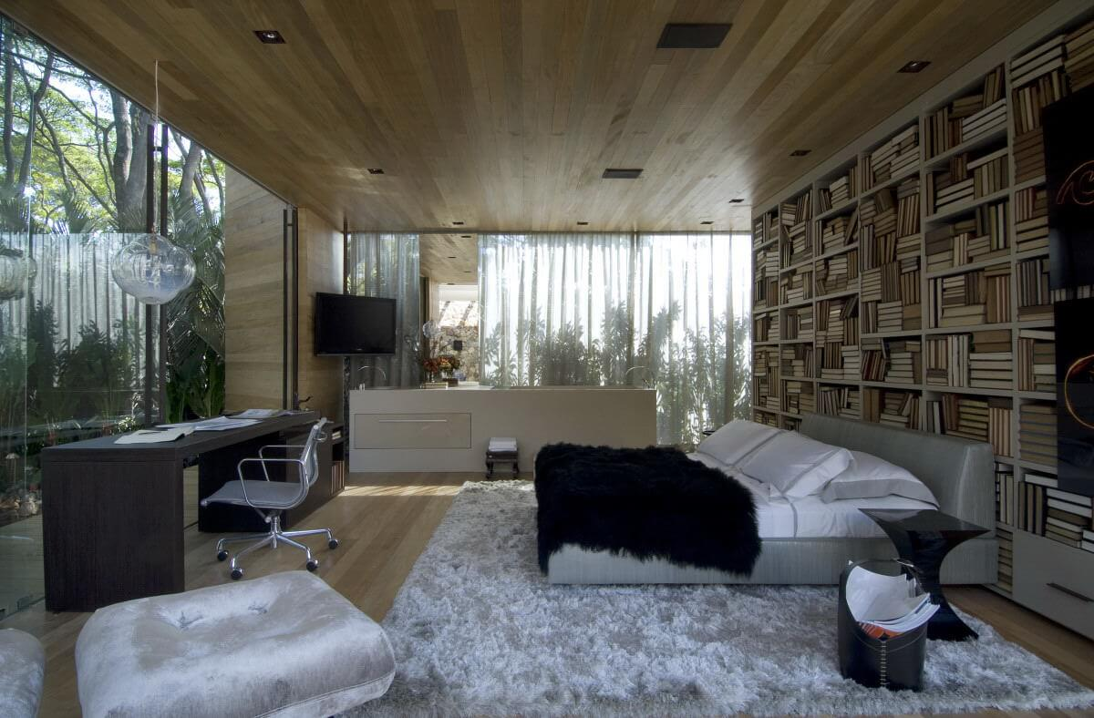10 Amazing Bedroom Interior Design Ideas With Glass Walls