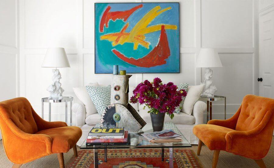 10 modern eclectic living room interior design ideas for Eclectic chic living room