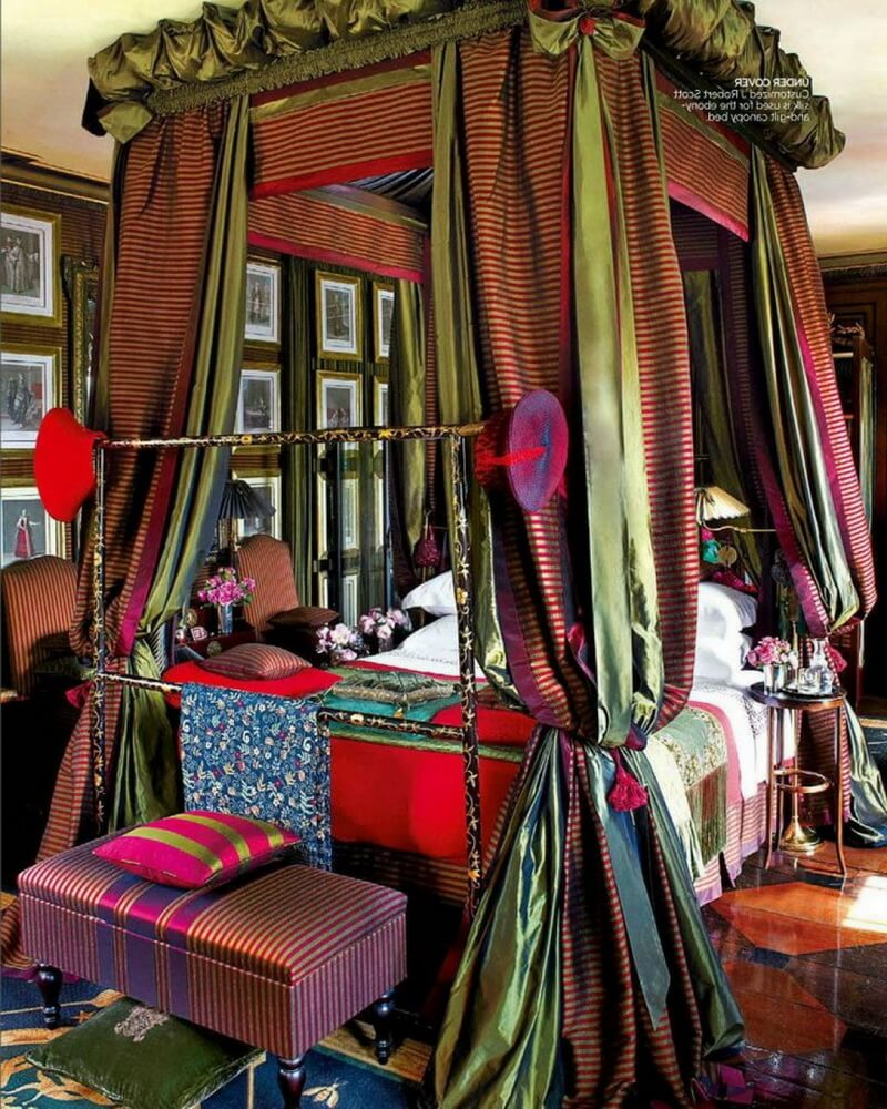 Classy-Bohemian-Style-with-Unique-Canopy-Idea-Bohemian-Style-