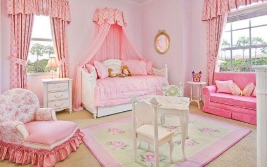 Classy Pink Bedroom