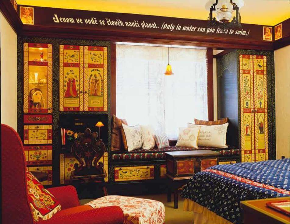 Cool Bohemian Bedroom