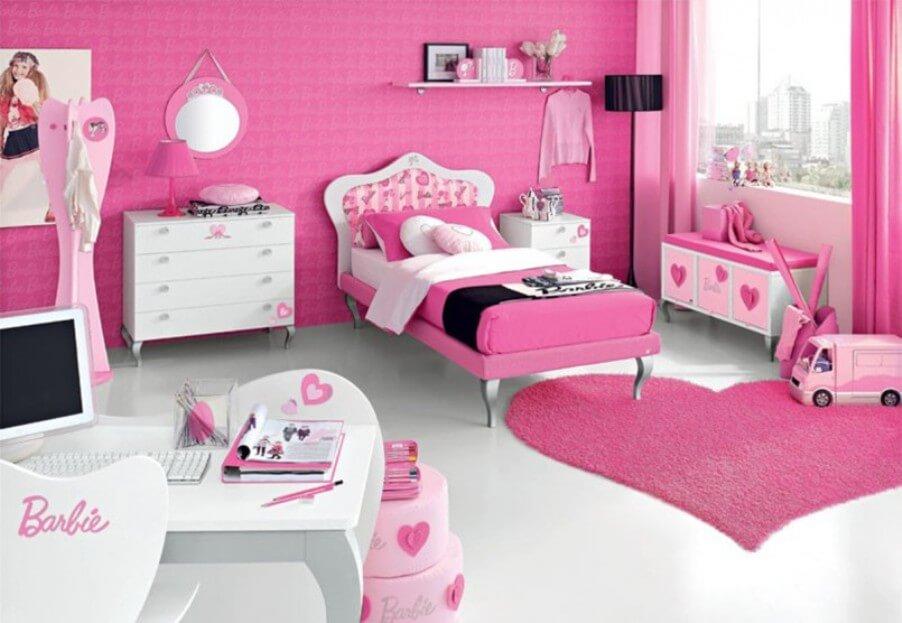 Cool Pink Bedroom