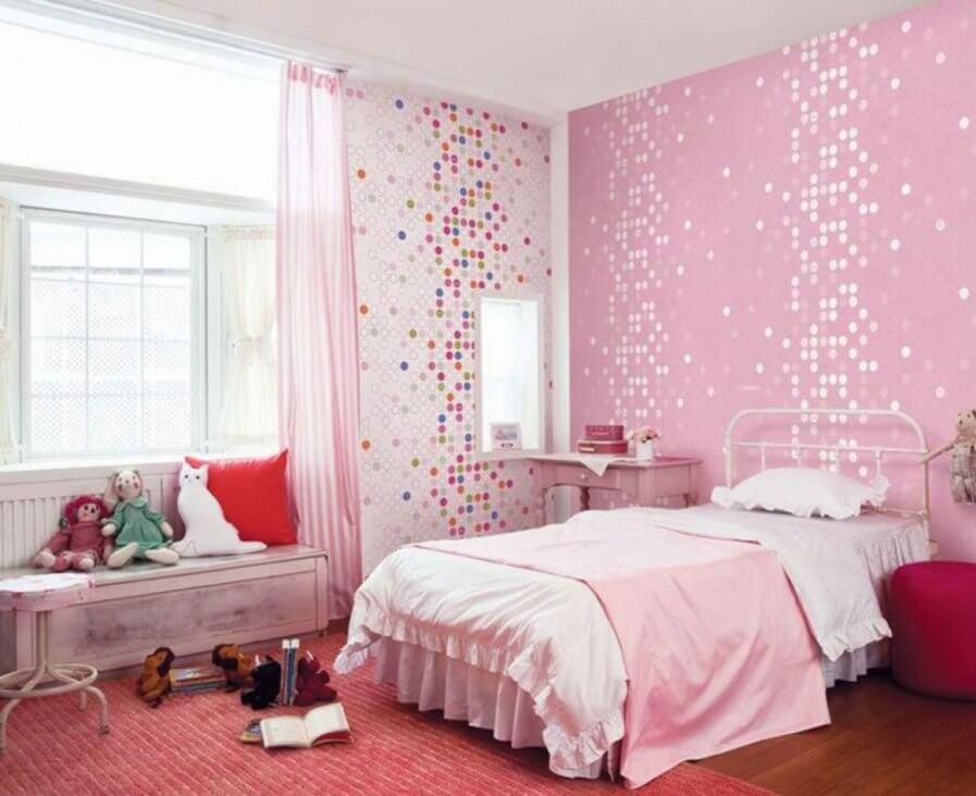 Ecstatic Pink Bedroom