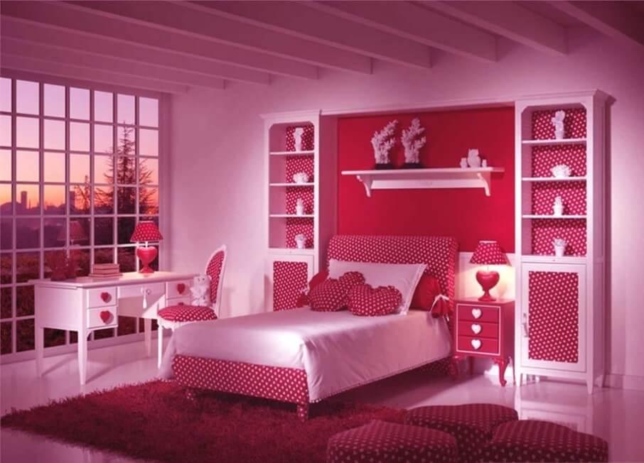 Fabolous Pink Bedroom