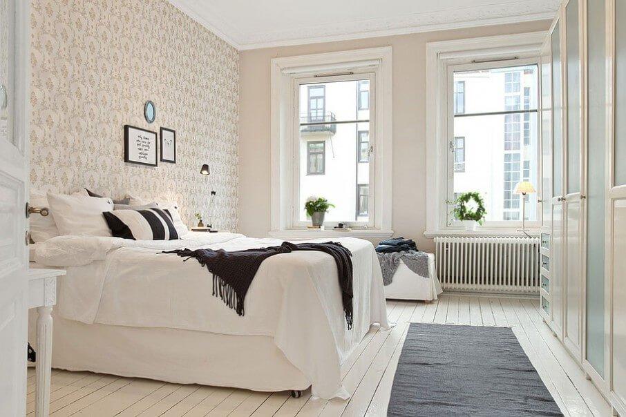 Fascinating Airy Bedroom