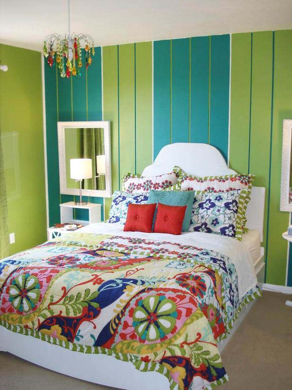 10 bohemian bedroom interior design ideas https Teenage bedroom wall designs