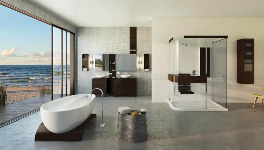 Natural Minimalist Bathroom
