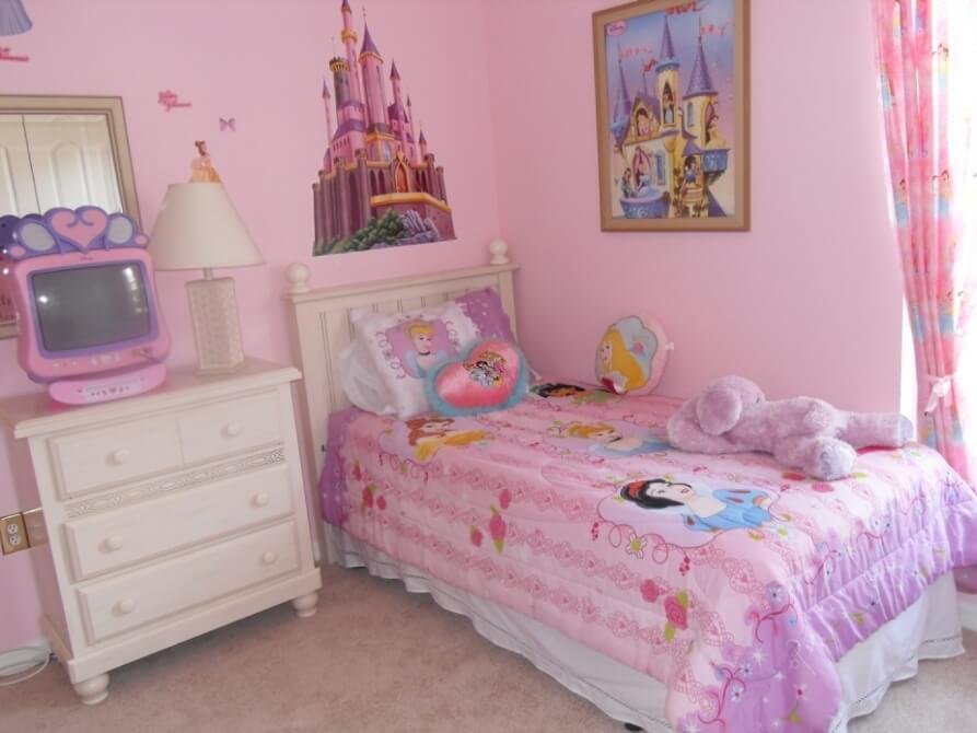 Princess Inspired Pink Bedroom