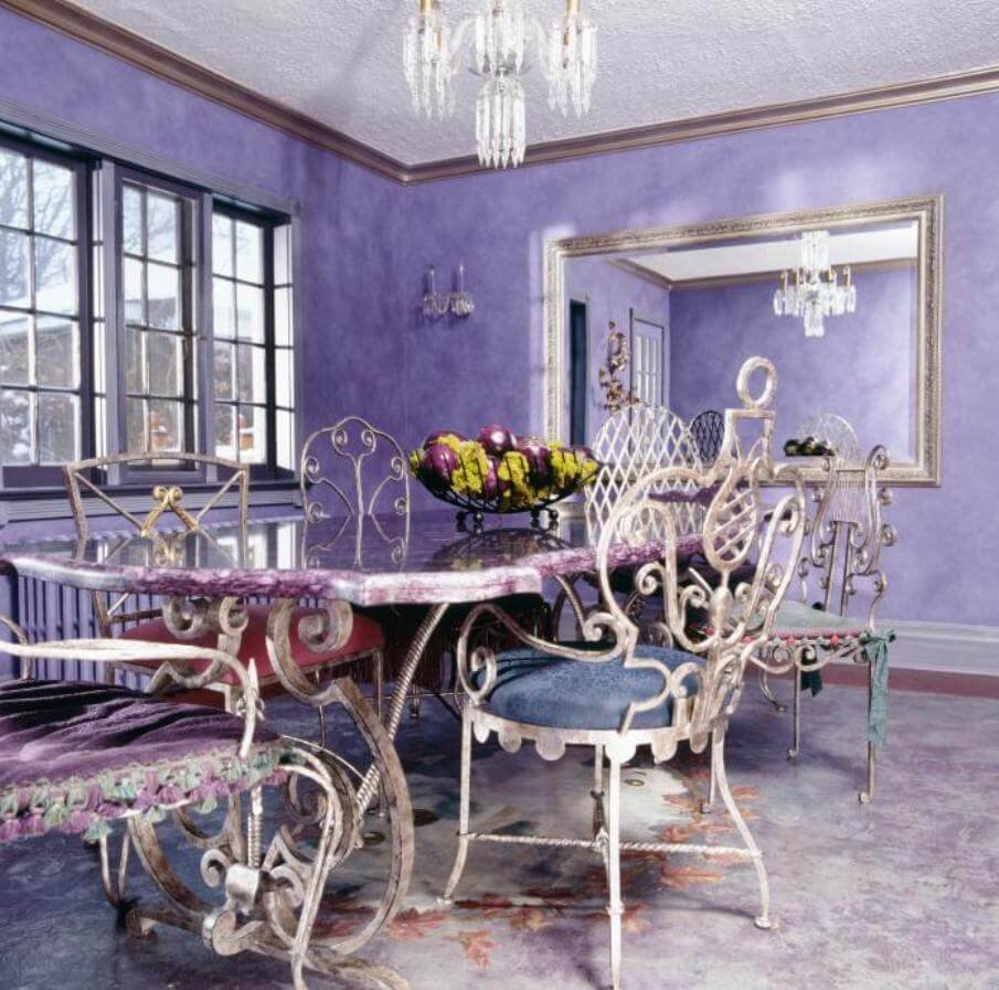 Quirky Eclectic Dining Room