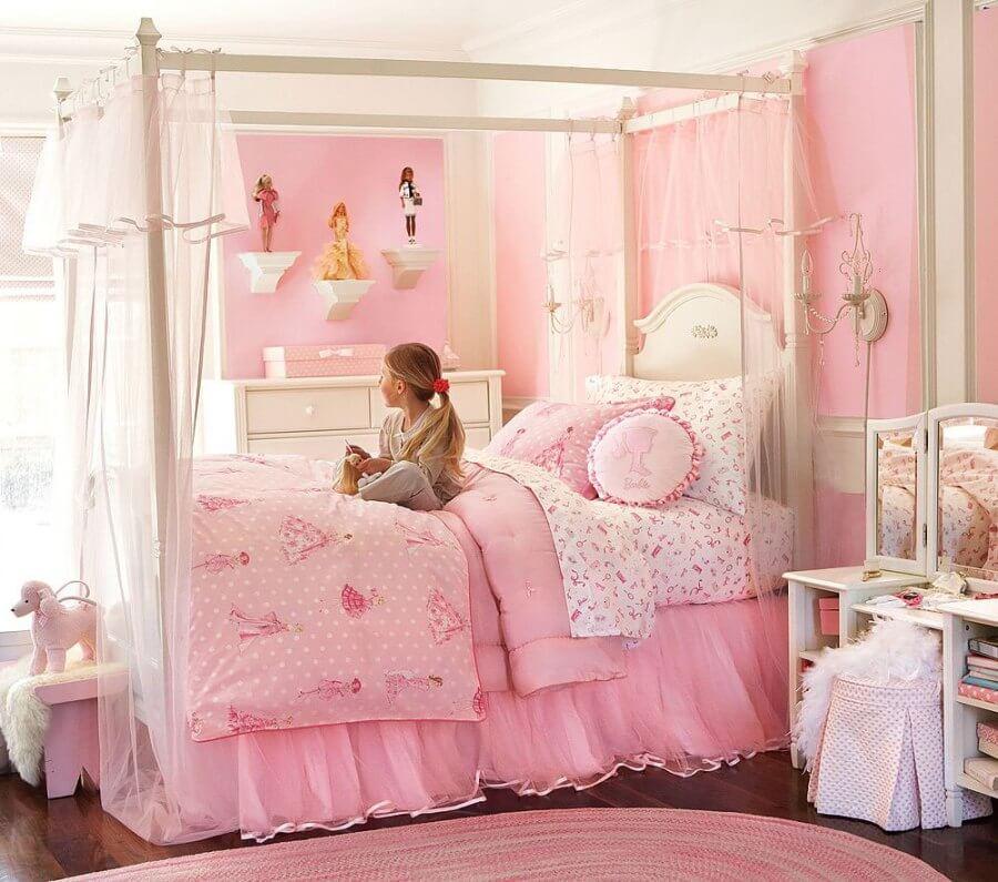 Royalty Pink Bedroom