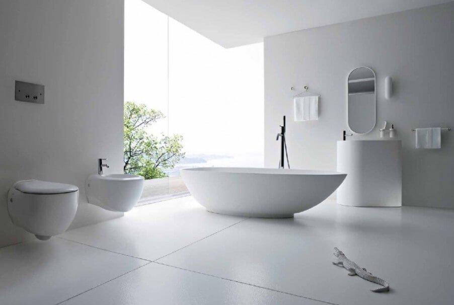 Serene Minimalist Bathroom