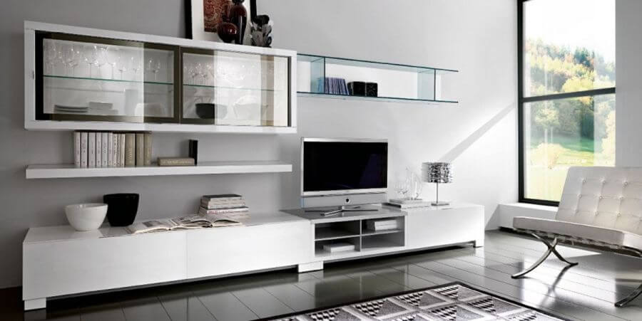 10 amazing contemporary living room interior design ideas for Sleek living room