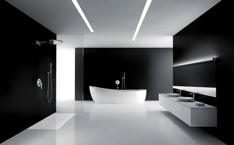 Sleek Minimalist Bathroom