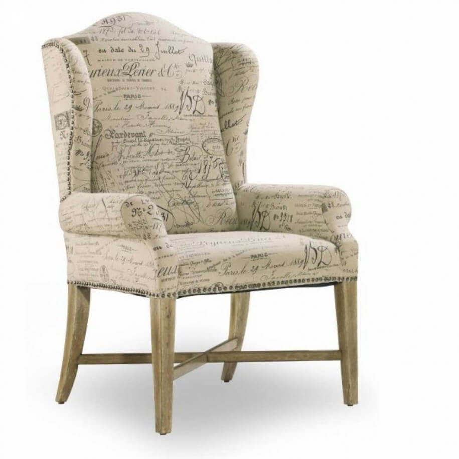 10 wing back chair design ideas for living room interior for Comfortable wingback chair