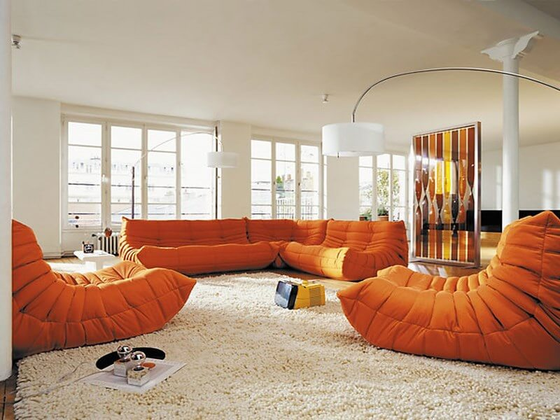 10 Charming Orange Interior Design Ideas